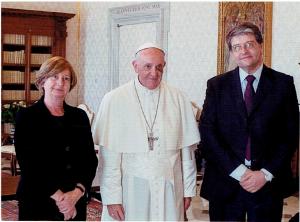 Felo con el Papa